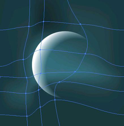AI仿照PS蒙版绘制透明变化的月亮效果(7)