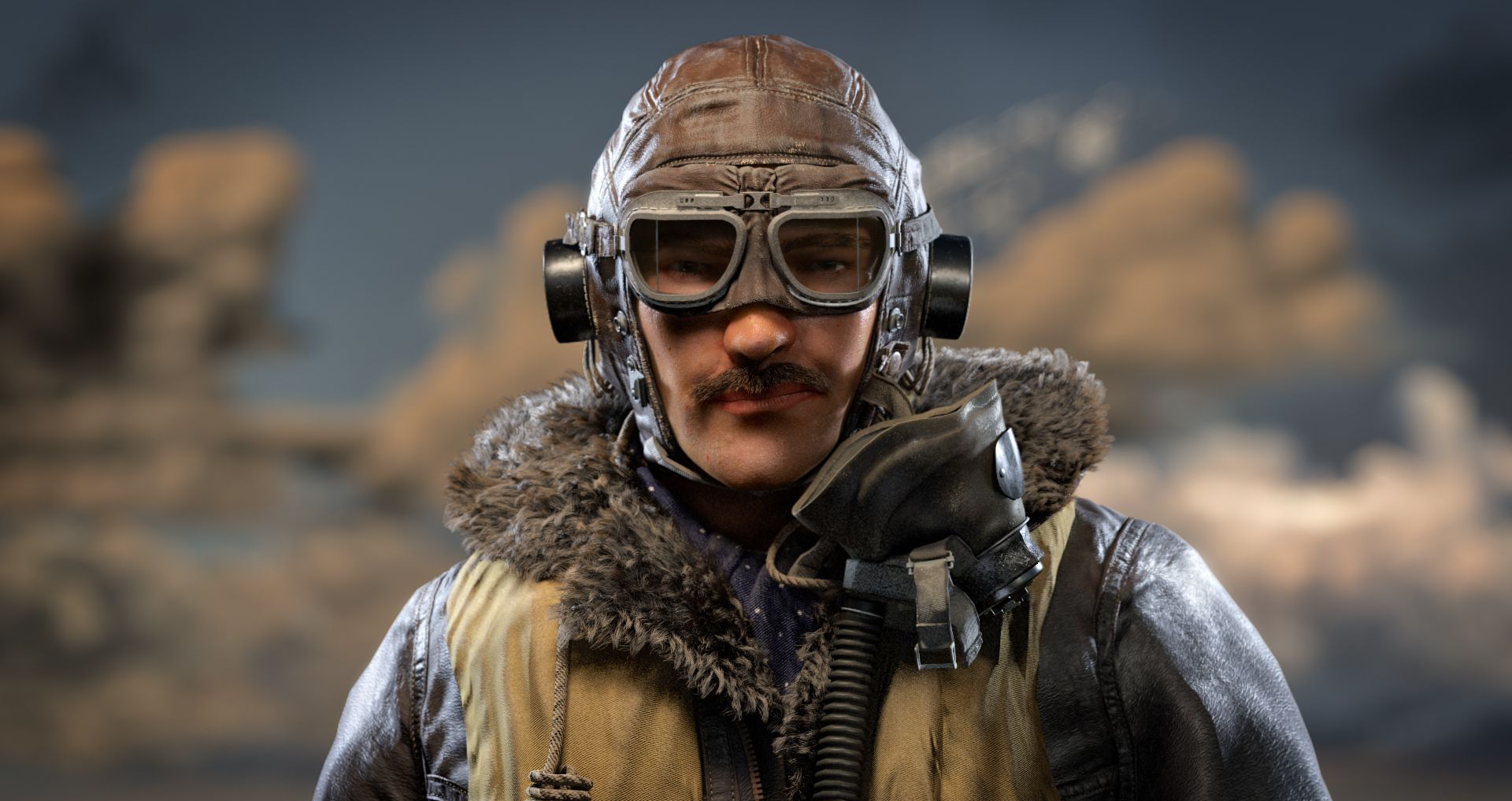 Maya制作第二次世界大战飞行员教程