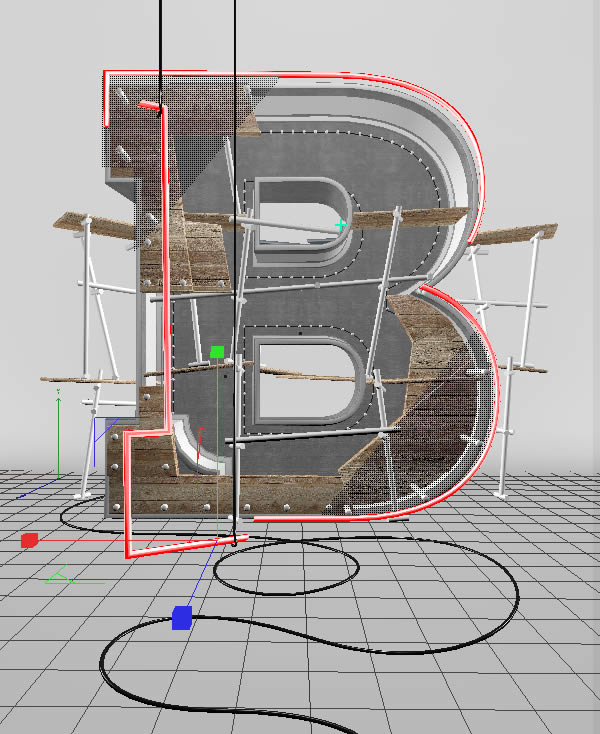 Cinema 4D打造有创意的立体数字(79)