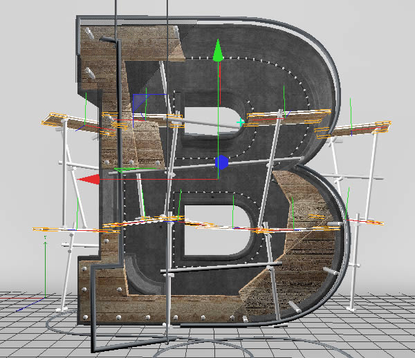 Cinema 4D打造有创意的立体数字(73)