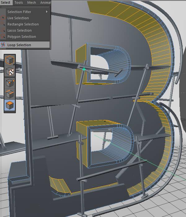 Cinema 4D打造有创意的立体数字(42)