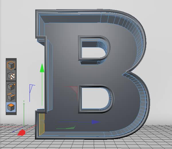 Cinema 4D打造有创意的立体数字(19)