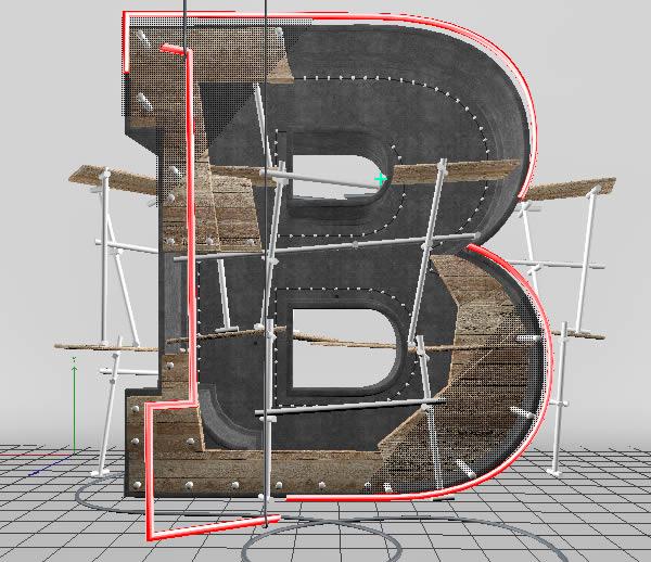Cinema 4D打造有创意的立体数字(76)