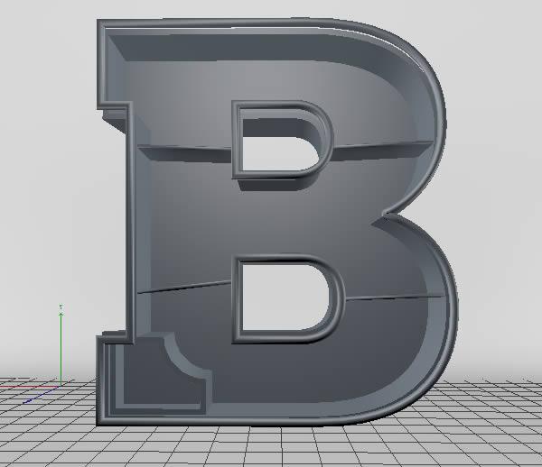 Cinema 4D打造有创意的立体数字(25)