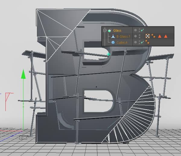 Cinema 4D打造有创意的立体数字(47)