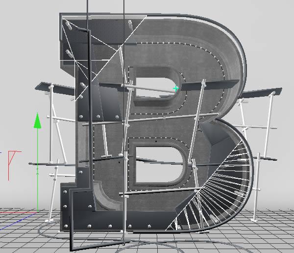 Cinema 4D打造有创意的立体数字(69)