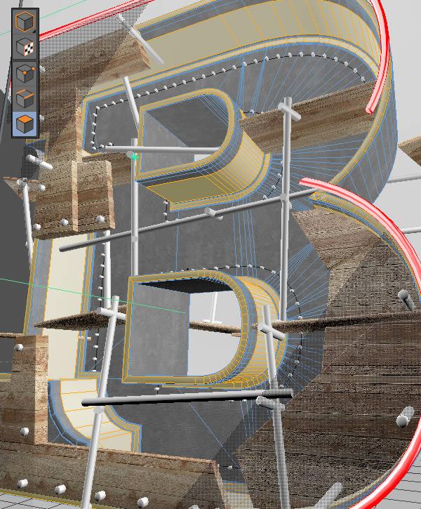 Cinema 4D打造有创意的立体数字(77)