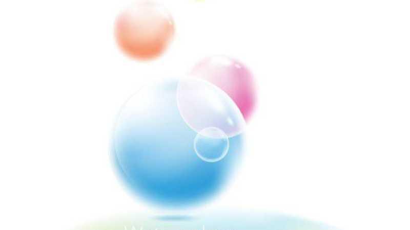 AI绘制朦胧梦幻水晶球