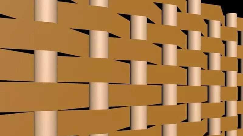 如何使用3DMax制作竹篓编织