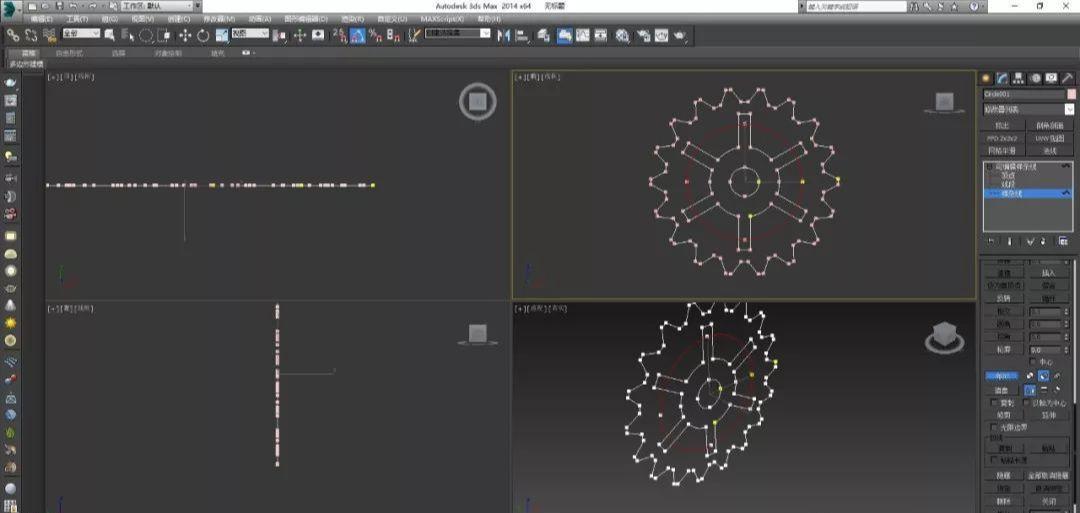 3DMax机械表的运转齿轮制作教程(18)