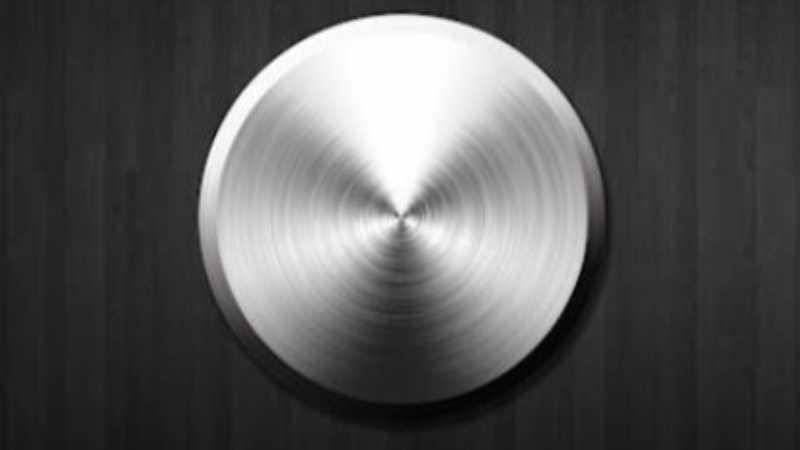PS制作金属质感按钮教程