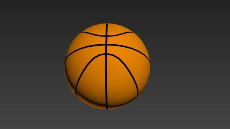 用3DMax多边形制作逼真的篮球模型教程