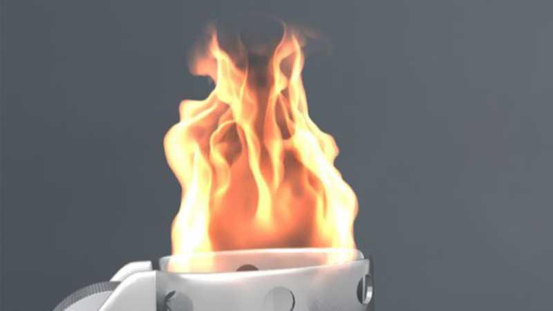 Maya流体创建真实火焰效果