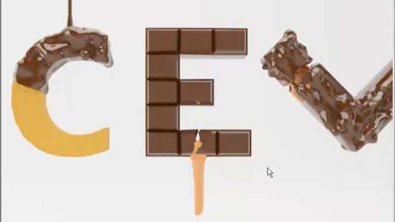3dmax多边形建模制作巧克力模型的教程