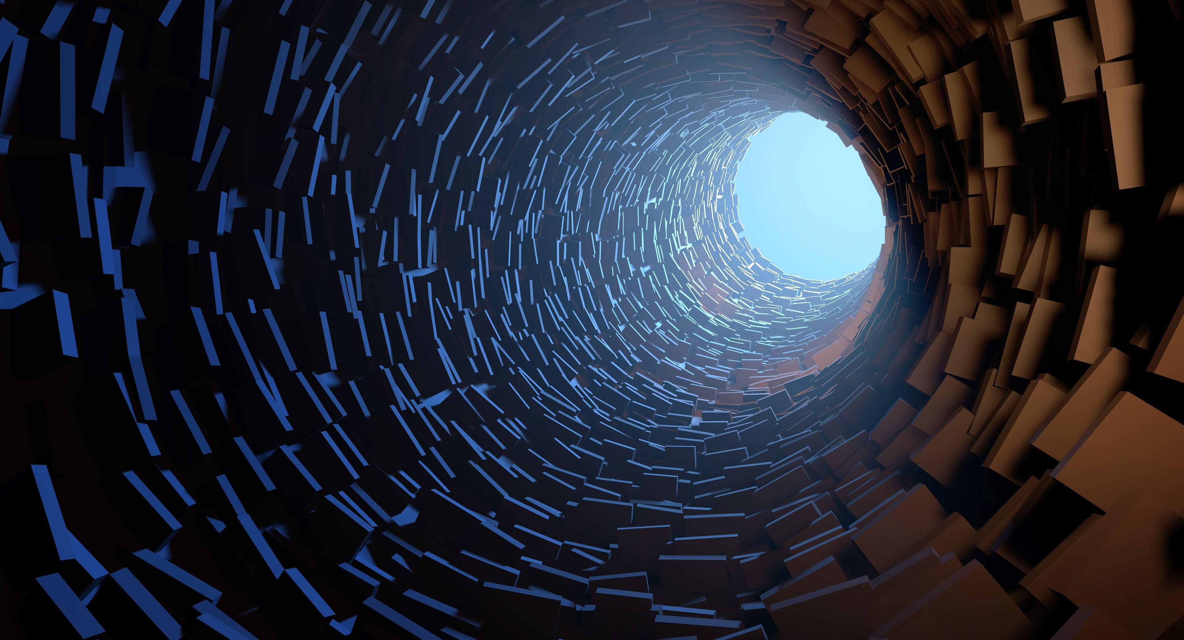 C4D制作隧道场景教程(1)