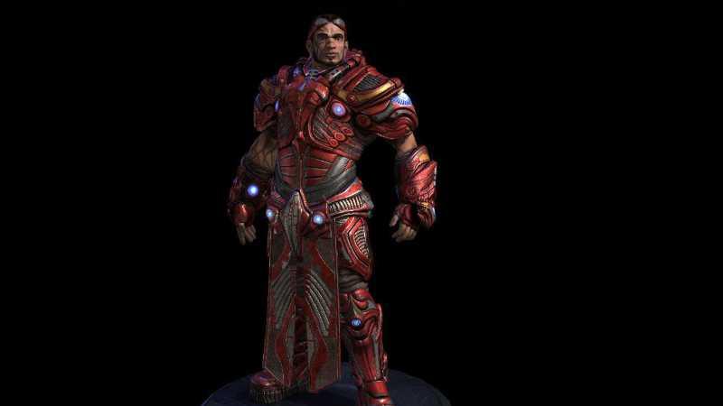 maya制作次世代虚幻角色盔甲