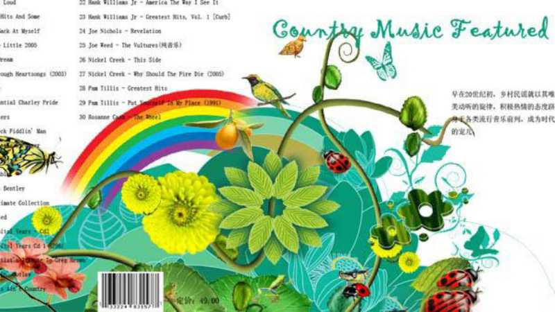 photoshop制作CD封面