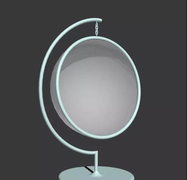 3DMAX快速制作一个简单的吊椅模型(27)