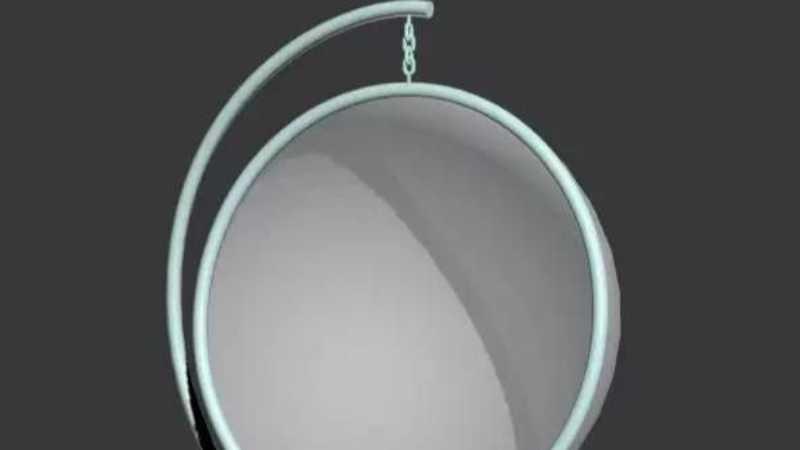 3DMAX快速制作一个简单的吊椅模型