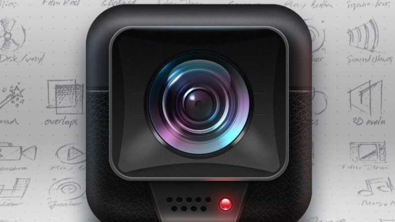 PS绘制光影质感摄像机icon