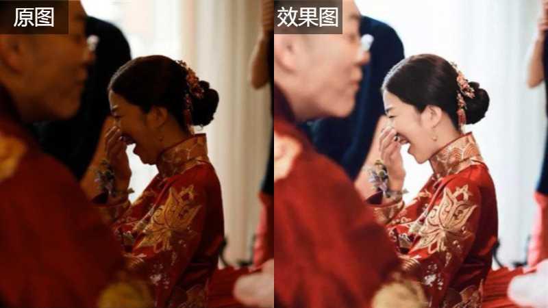ps修正婚礼纪实中的曝光不足的照片