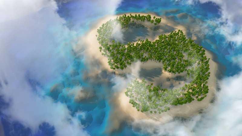 C4D制作海岛小场景教程