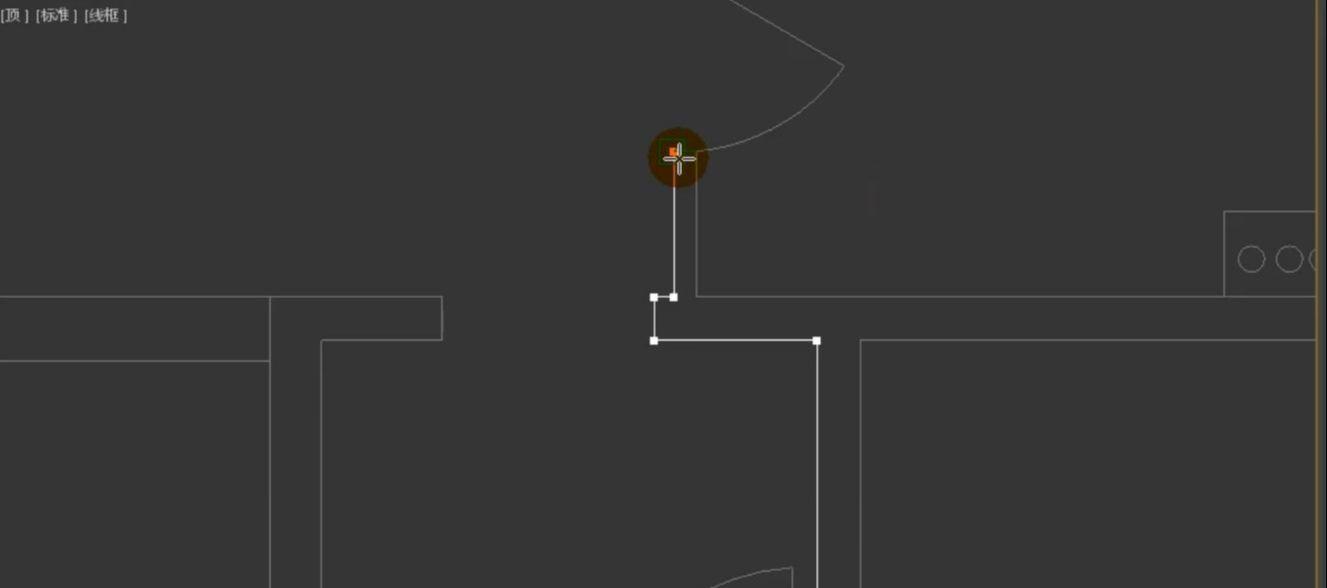 如何用3dmax根据CAD图纸制作户型图(9)
