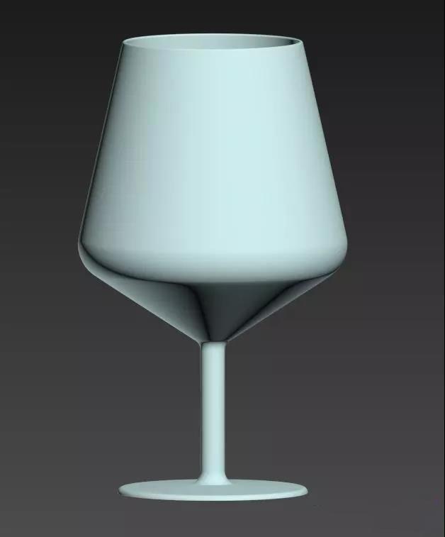 3Dmax制作简单的高脚杯建模