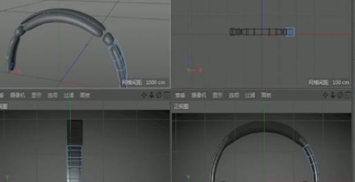 C4D头戴式耳机建模教程(2)