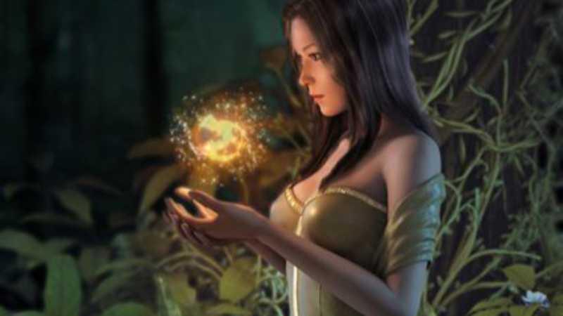 Maya精灵女巫的制作流程