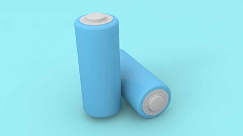 C4D卡通风小电池建模教程