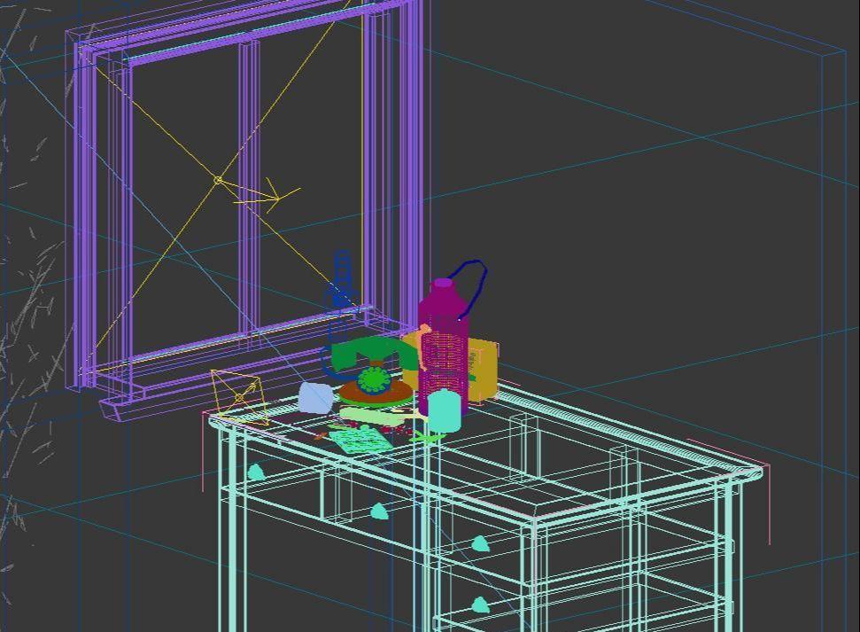 3DMAX打造静帧时光效果(8)