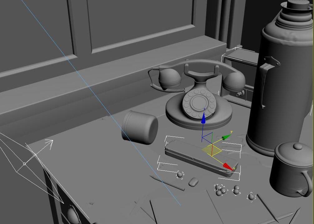 3DMAX打造静帧时光效果(6)