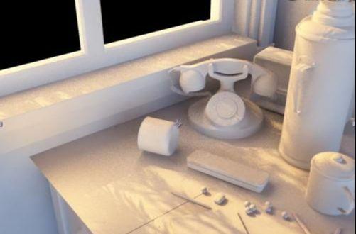 3DMAX打造静帧时光效果(11)