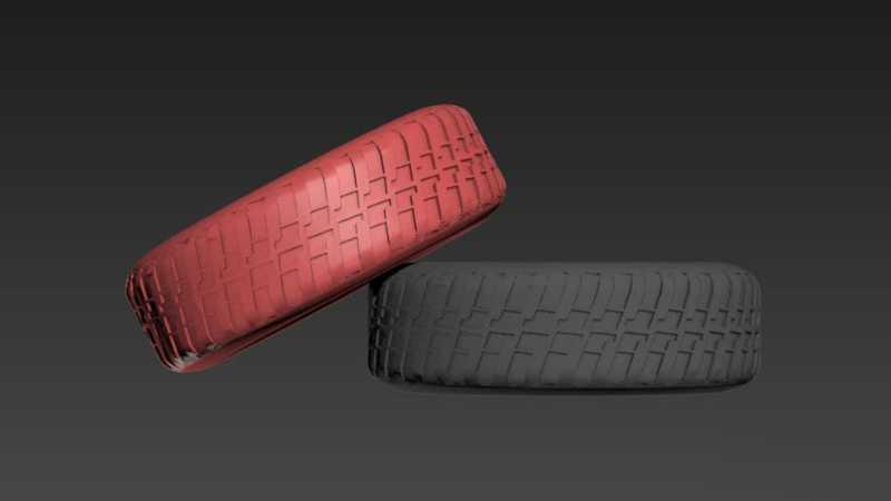 3DMax制作高精度汽车轮胎模型教程