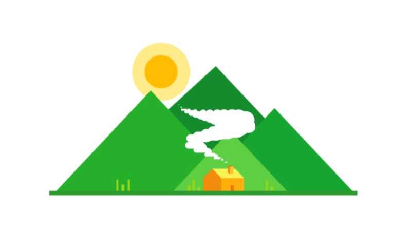 AE制作村庄烟雾小动画
