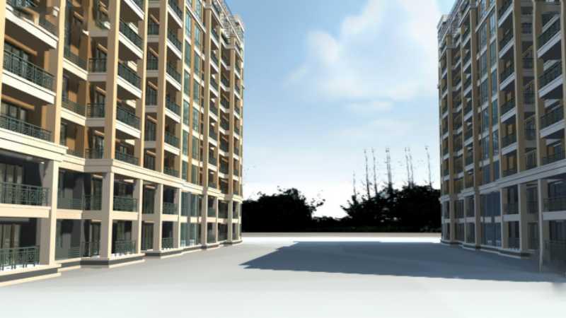 3DMAX给室外建筑楼房单体渲染效果
