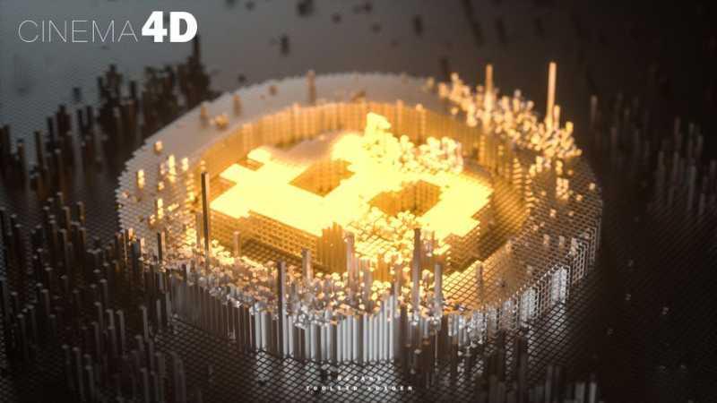 C4D简单制作像素化效果