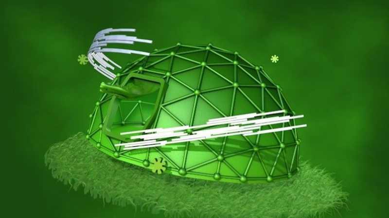 C4D用毛发快速制作草地场景教程
