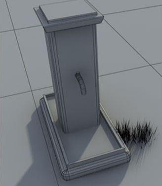 3D Max制作怀旧老屋建模教程(5)