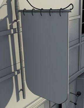 3D Max制作怀旧老屋建模教程(6)