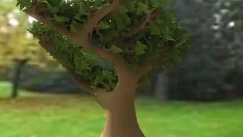 3ds Max制作树木