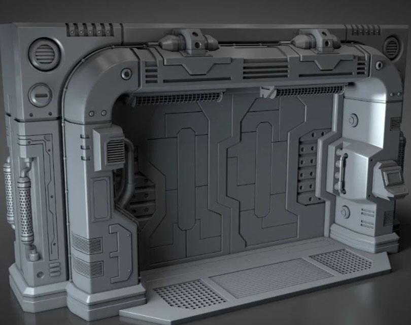 Cinema 4D硬表面建模教程