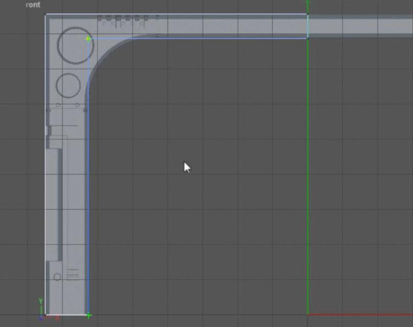 Cinema 4D硬表面建模教程(1)