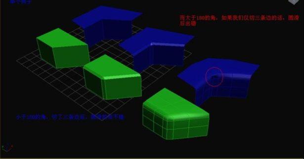 3D Max制作多边形圆建模教程(7)