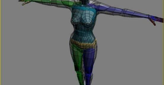 3DMAX制作坐在床上的女孩建模教程(10)