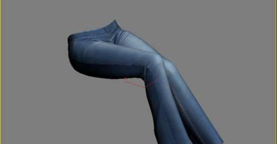3DMAX制作坐在床上的女孩建模教程(21)