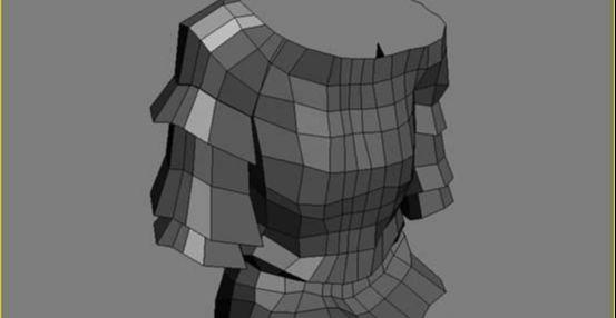 3DMAX制作坐在床上的女孩建模教程(12)