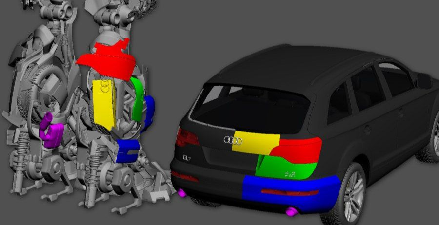 3DsMAX制作超真实的变形金刚建模教程(11)