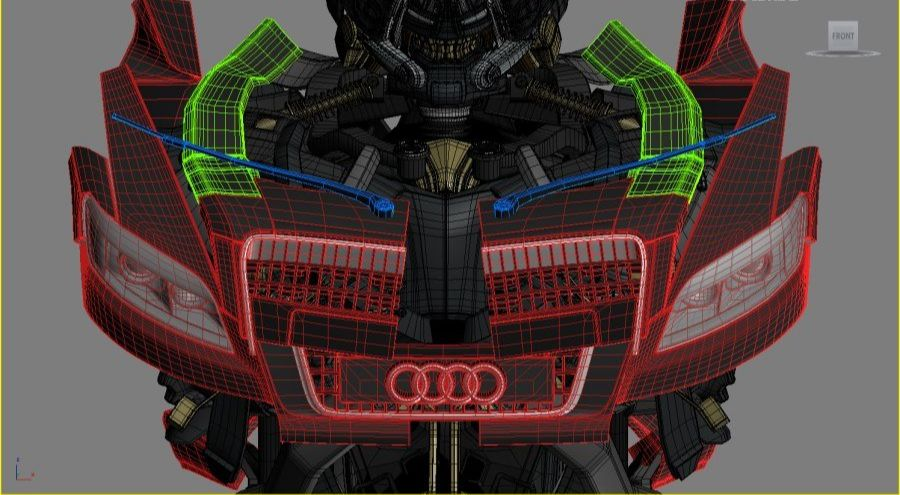3DsMAX制作超真实的变形金刚建模教程(8)